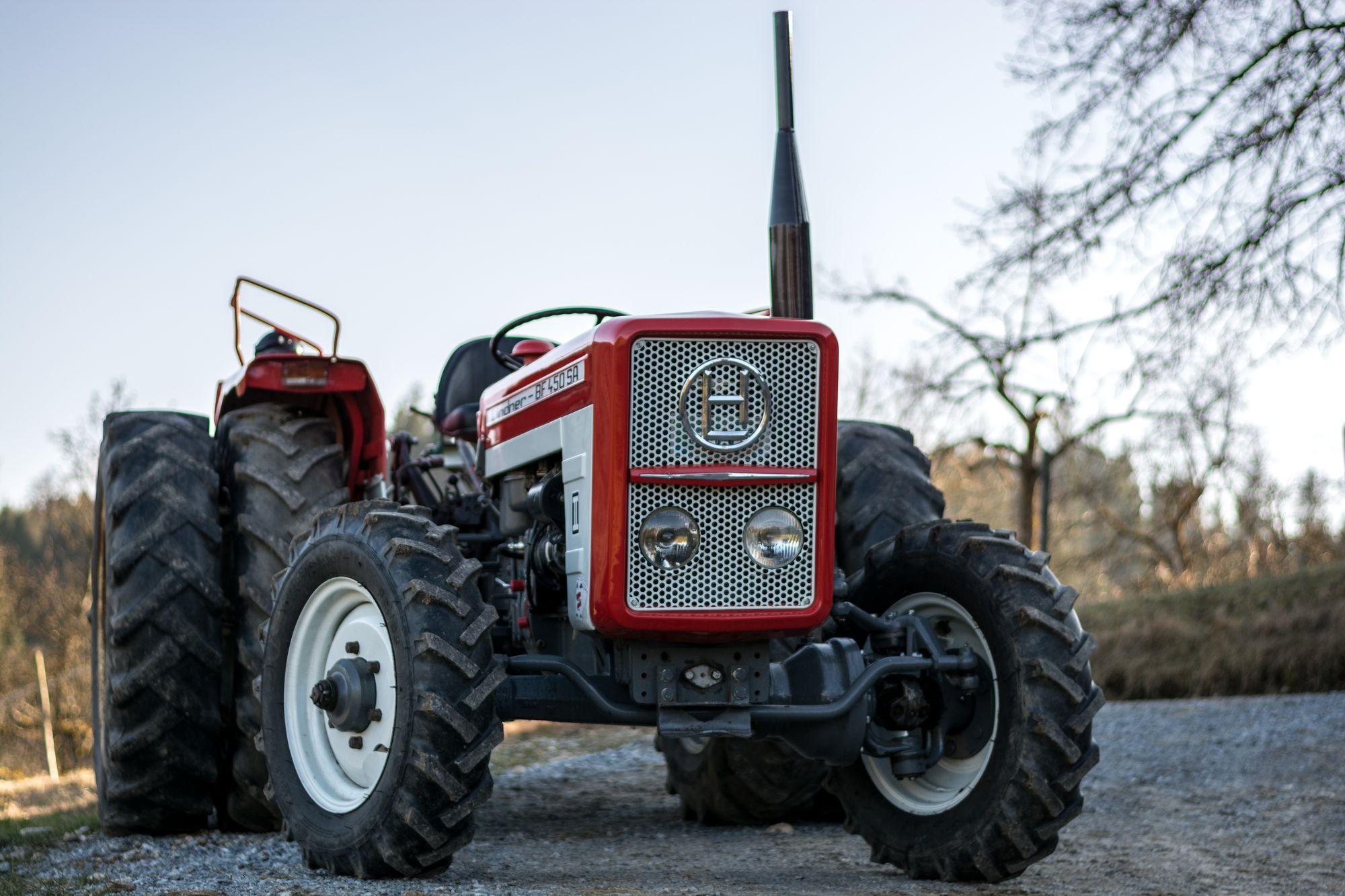 Lindner BF 450 SA Allrad (Traktor)